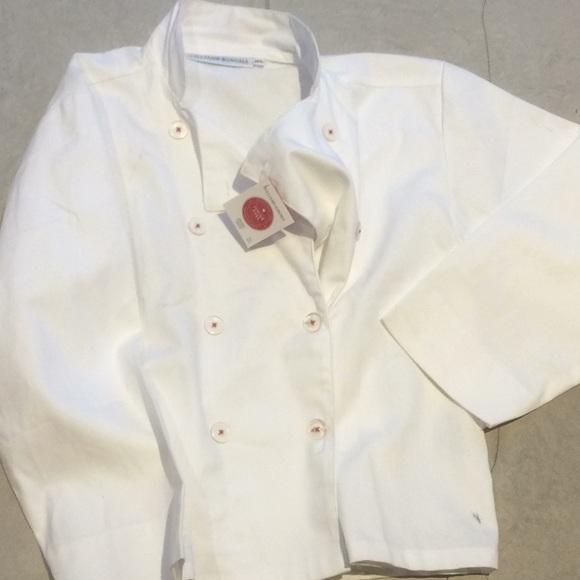 e0824cc1730 Williams Sonoma Jr. Chef jacket size M L